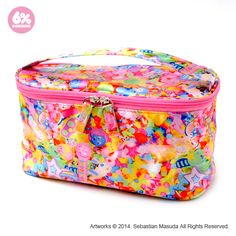 Vanity Pouch / Colorful Rebellion - 6% DOKIDOKI WEB SHOP