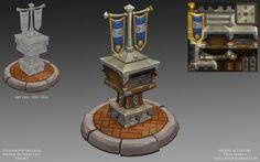 Stormwind mailbox details by oleglinkov