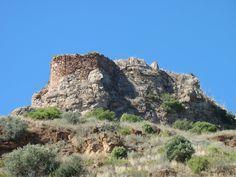 Castillo de Almédijar . Castellon .Spain .