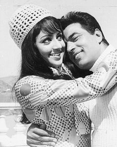 Famous Bollywood Couple Hema Malini and Dharmendra+ in Romantic Mood 1970's