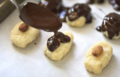 coconut almond candy bars