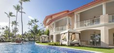 Majestic Elegance Punta Cana - All Inclusive - Adults Only Punta Cana All Inclusive, Punta Cana Hotels, Best Family Vacation Destinations, Majestic Elegance, Adults Only, 5 Star Hotels, Good Night Sleep, Terrace, Mansions