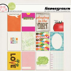 prd Homegrown and awolff homegrown| Journal Cards