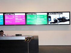 MoMA Digital Signage