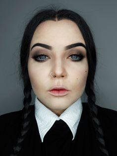 makeup wednesday addams - Pesquisa Google