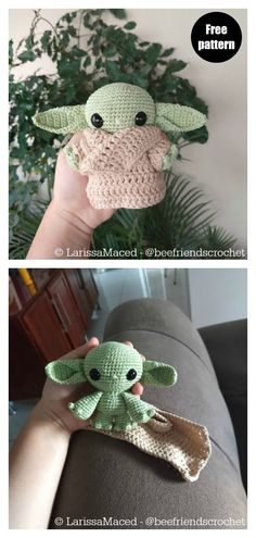 Star Wars Yoda Crochet Patterns Are you a Star Wars fan? We ha. - Stricken ideen - Star Wars Yoda Crochet Patterns Are you a Star Wars fan? We ha. Star Wars Yoda Crochet Patterns Are you a Star Wars fan? We ha. Crochet Animal Patterns, Crochet Patterns Amigurumi, Stuffed Animal Patterns, Crochet Dolls, Crochet Stitches, Knitting Patterns, Crochet Animals, Amigurumi Doll, Octopus Crochet Pattern Free