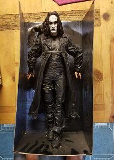 "2004 Neca Reel Toys Eric Draven THE CROW 18"" Figure  w/BOX!! #NECA"