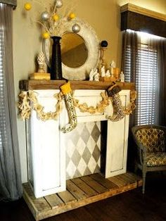 5 Beautiful ideas: Fireplace Built Ins Cabinets electric fireplace design.Fireplace Diy Gas old fireplace stove. Simple Fireplace, Tall Fireplace, Fireplace Garden, Fireplace Built Ins, Fireplace Mirror, Modern Fireplace, Fireplace Design, Fireplace Ideas, Fireplaces