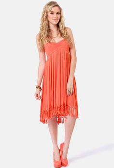 The summer sun is calling your name, so answer the call with the Roxy Native Breeze Strapless Coral Dress! This tropical trapeze dress features a shirred bodice. Junior Cocktail Dresses, Coral Dress, Roxy, Dress To Impress, Spring Outfits, Beautiful Dresses, Strapless Dress, Feminine, Summer Dresses