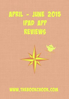 The Book Chook: April - June 2015 iPad App Reviews