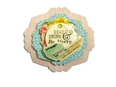 3D Scrapbook Embellishment Paper piecing gift tags by itsmemanon