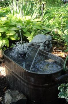 125 Best Galvanized Tub Water Gardens Images In 2019
