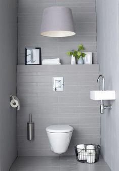 Light Grey #Bathroom Designs