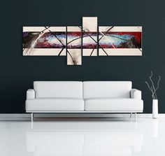 A recreation of this red and blue abstract painting can be made at http://www.nicolenicholasart.com/collections/gallery/products/ryans-red-acrylic-painting  $450 CAD