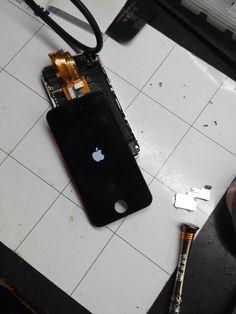 Cambio de pantalla de iPhone4s