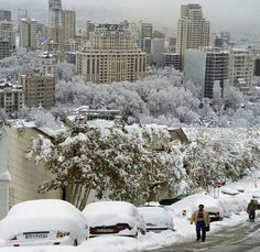 #Tehran#snowyday#dec2015