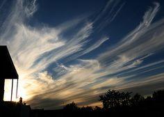 cirrus uncinus clouds; photo credit: Richard Lehoux