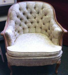 Beautiful vintage chair!