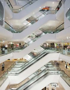 The new Gerngross! Shopping Center in Vienna, Austria. | LOVE architecture and urbanism
