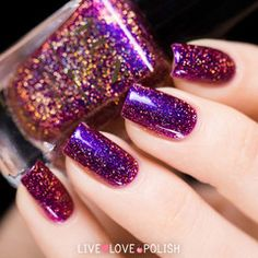 Swatch of Fun Lacquer Cheers To The Holidays (H) Nail Polish