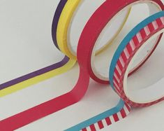 View Washi and Fabric Tape by TheSupplyHaven on Etsy