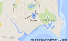 Location of Bowen Cricket Inc Cricketer
