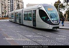 Light Rail Transit - LRT, public transport, Jerusalem, Israel