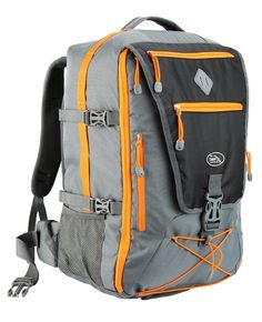 Equator Backpacking Flight Approved Backpack with Integrated Rain cover,  Wais... Hiking Backpack 1096503ceb