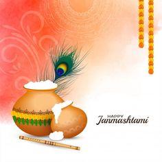 Happy Janmashtami, Krishna Janmashtami, Janmashtami Celebration, Janmashtami Decoration, Funny Cartoon Characters, Celebration Background, Festival Background, Festival Celebration, Indian Festivals