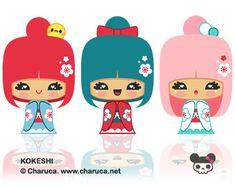 Charuca Cute Kokeshi | Flickr - Photo Sharing!
