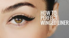 HOW TO: Perfect Winged Eyeliner | 8 Steps for Perfect Cat Eye Everytime - YouTube