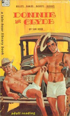 Homo History: More Vintage Gay Pulp Paperbacks (love the happy trails!)