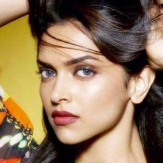 Deepika Padukone Gray and Orange
