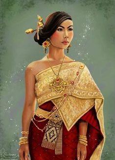 Baju Tradisional Thailand