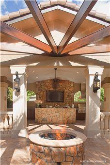 """Mizell Cabana,"" Winter Park, FL (5 of 5). Winner of the 2011 Silver BALA for Interior Design of a Specialty Room. Architect/Designer/Builder: Phil Kean Designs."