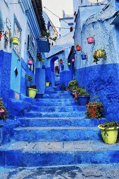 Chefchaouen Morocco [2048x1536] [OC] http://ift.tt/2iBezNZ