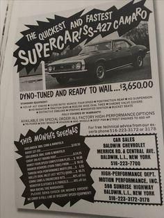 Baldwin Chevrolet high performance options ad...