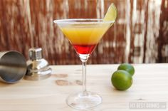 La Bomba – cocktail with gold tequila