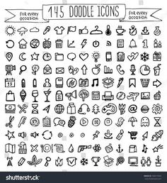 Vector Doodle Icons Universal Set Stock Vector (Royalty Free) 196917659 Discover this and millions of other royalty-free stock photos, illustrations, and vectors in the Shutterstock collection. Thousands of new, high-quality images added every day. Bullet Journal Banner, Bullet Journal Notebook, Bullet Journal School, Bullet Journal Ideas Pages, Bullet Journal Inspiration, Bullet Journal Icons, Kritzelei Tattoo, Tiny Tattoo, Tattoo Flash