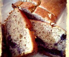 Pão de banana com mirtilho - Sem amendoim/frutos de casca rija, Sem chocolate, Sem leite, Sem mariscos ou moluscos, Sem sésamo