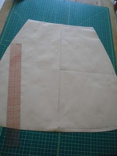 Today I thought I would share how to draft the basic A-line skirt using your own measurements. Prepare yourself to be amazed how utterly eas...