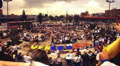 #SOSVenezuela en #bogota #PrayForVenezuela #22F