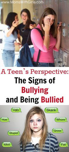 Signs of bullying and being bullied.