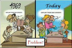 Education problems in 1969 vs. today.