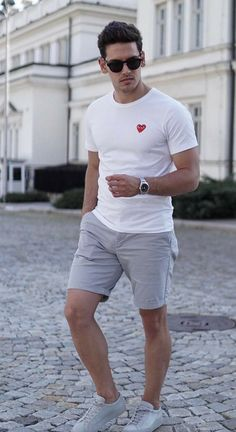 75 Stylish Men Casual Outfit to Wear Everyday - Beautifus Stylish Men, Men Casual, Smart Casual, Mode Geek, Summer Outfits Men, Summer Men, Men Summer Fashion, Casual Summer, Casual Outfits