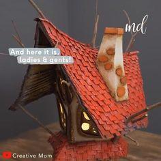 Rzemiosło dla dzieci how to make doll house american doll stuff Kids Doll House, Doll House Plans, Girls Dollhouse, Diy Dollhouse, Ideias Diy, Diy Crafts Hacks, Cardboard Crafts, Child Doll, Doll Crafts