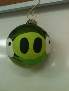 Angry Bird ornaments!