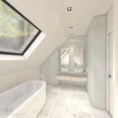 WONING S+D | dot. #dotinterior #interior #interiorarchitecture #3D #3Dvisualisation #bathroom #livingspace