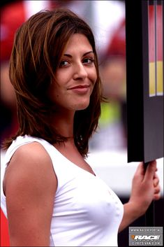 F1 babe Marlboro