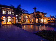 Oceanfront European Style Mansion in Vero Beach Florida